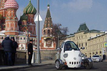 В Москве собрали трехколесный электромобиль. Но есть одно «но»…
