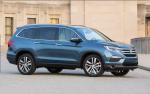 Обновленный Honda Pilot заметили во время тестов на дороге