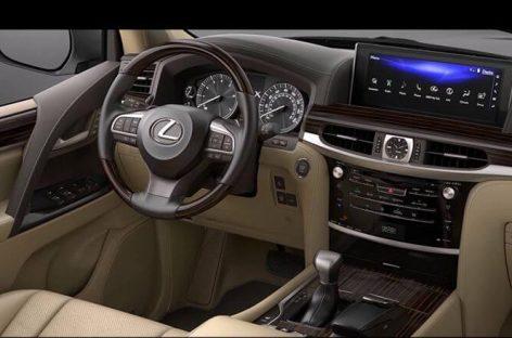 Озвучена стоимость внедорожника Lexus LX 570
