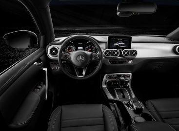 Mercedes покажет самую мощную версию пикапа X-Класса