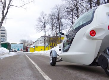 """В Москве собрали трехколесный электромобиль. Но есть одно """"но""""…"""
