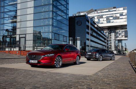 Mazda покажет обновленную «шестерку»
