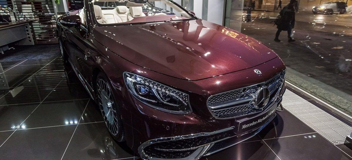 В России падают продажи подержанных автомобилей премиум-сегмента