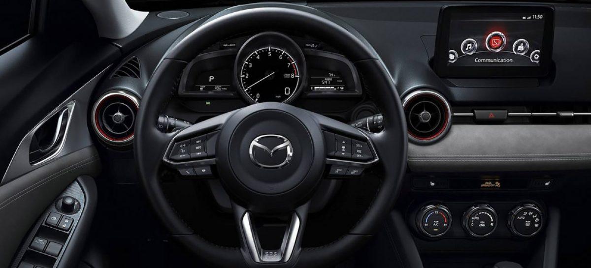 Обновленный Mazda CX-3 стал мощнее и комфортнее