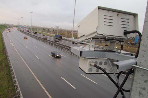 В Московской области станет еще больше дорожных камер