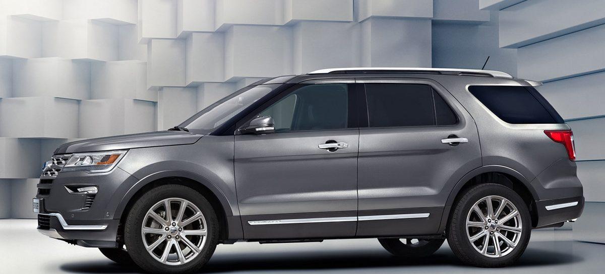 Обновлённый Ford Explorer уже в России