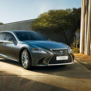 Lexus LS уже в продаже