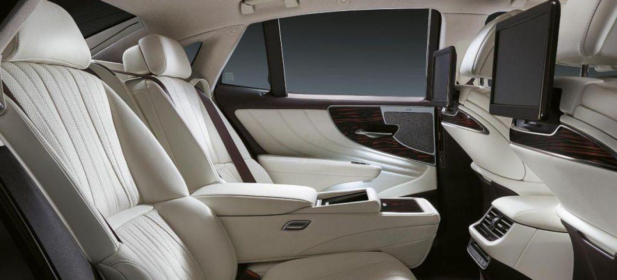 Три версии нового флагмана Lexus
