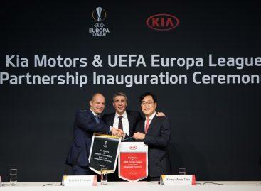KIA предоставит 270 автомобилей для Лиги Европы UEFA