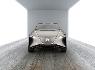 Nissan представил автономный электрокар