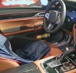Автопапарацци заглянули в салон обновленной  BMW 7-Series