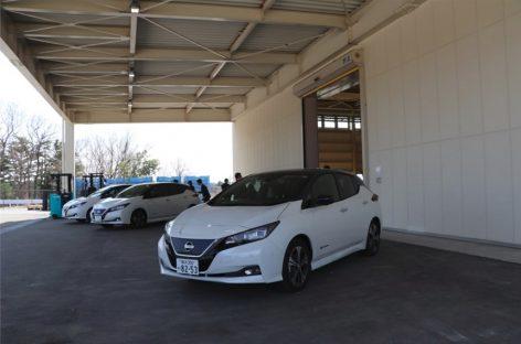 Nissan начнет перерабатывать батареи от электромобилей