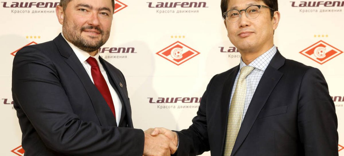 Laufenn стал официальным спонсором «Спартака»