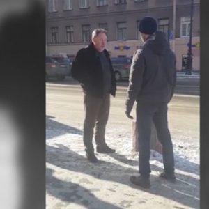 """""""Я тебя сгною"""". """"Прокурор"""" угрожал расправой пешеходу"""
