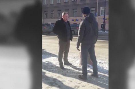 «Я тебя сгною». «Прокурор» угрожал расправой пешеходу