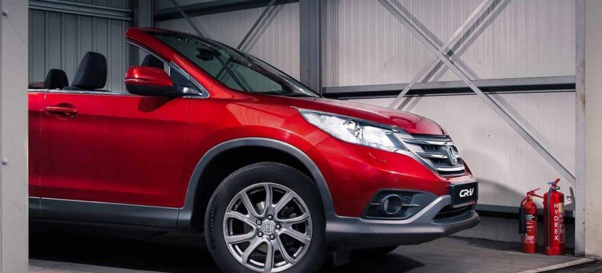 Кроссоверу Honda CR-V совсем крышу снесло