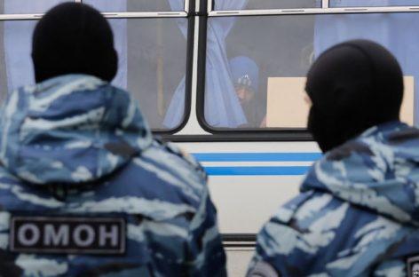 В Коломне протестующих против свалки задерживали бойцы ОМОНа