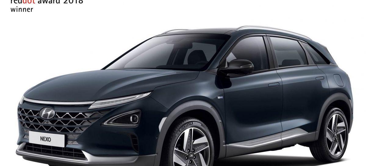 Hyundai получила двойную награду от Red Dot Awards