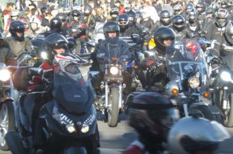 В столице 5 мая пройдёт парад мотоциклистов