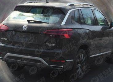 Фото нового кроссовера Volkswagen Tayron утекли в Сеть