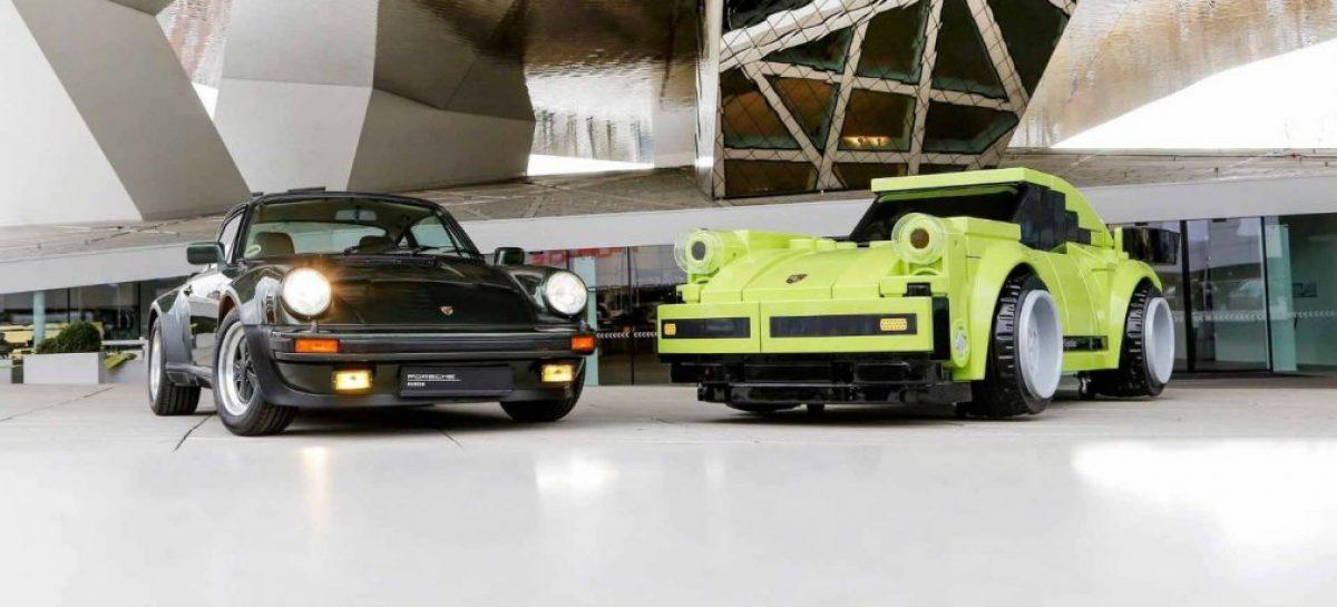 Porsche собрала спорткар из кубиков LEGO