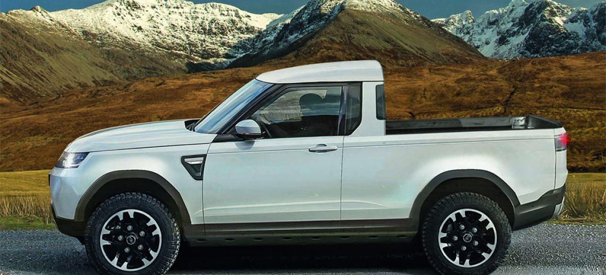 Land Rover выпустит пикап Defender