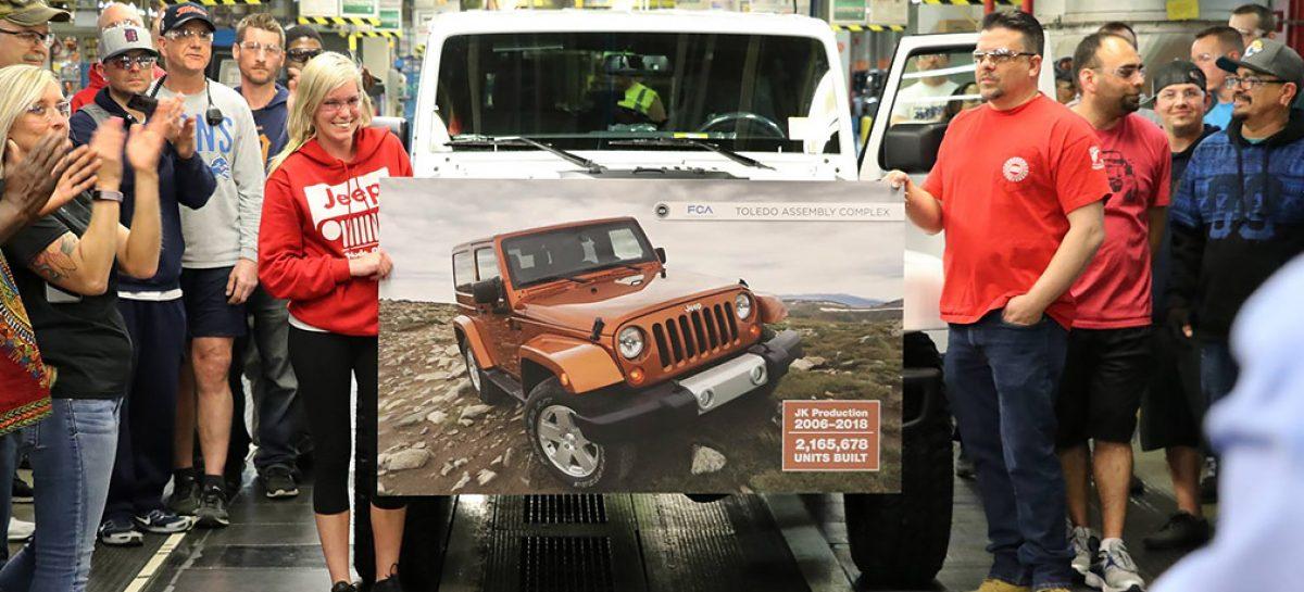 Последний Jeep Wragler JK