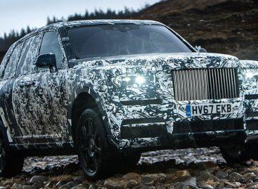 Rolls-Royce Cullinan прятаться не будет