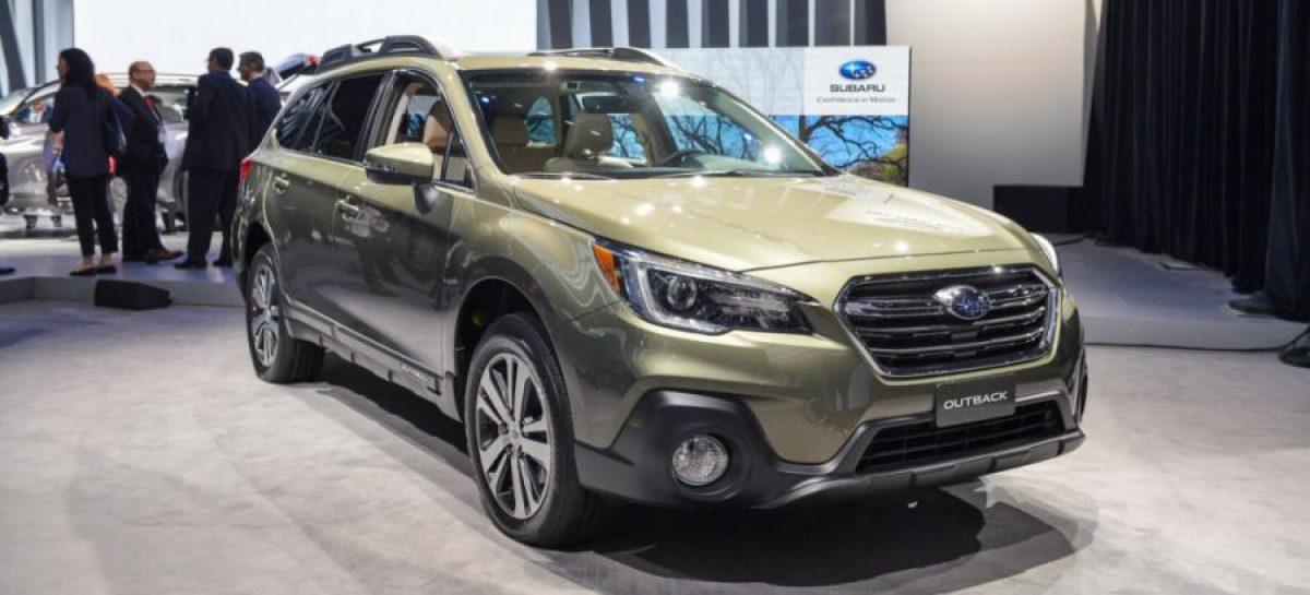 В России стартовали продажи Subaru Outback 2018