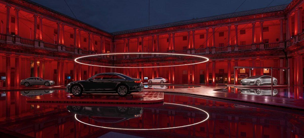 Прогулки по облакам вместе с Audi