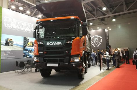 Мощный самосвал Scania Heavy Tipper