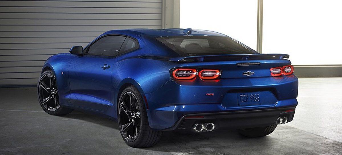 Chevrolet обновила спорткар Camaro