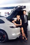 Ингеборга Дапкунайте и Александр Цыпкин — новые партнёры Porsche в России