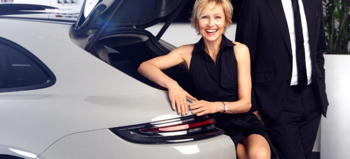 Ингеборга Дапкунайте и Александр Цыпкин – новые партнёры Porsche в России