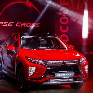 Mitsubishi Eclipse Cross приехал в Россию