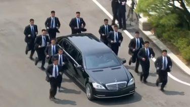 Кортеж Ким Чен Ына (Видео)