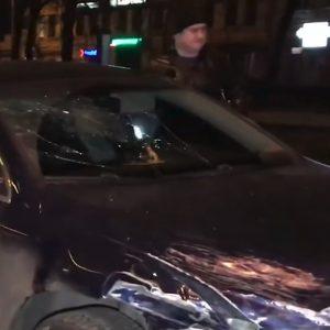 Российский дипломат протаранил такси и отказался «дышать в трубочку»