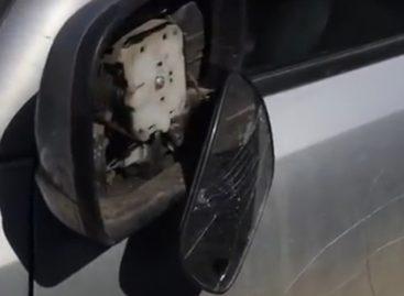 Неизвестные изуродовали автомобиль Сергея Асланяна