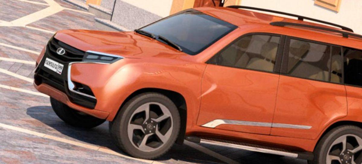 Большой внедорожник под брендом Lada — как тебе такое, Илон Маск?