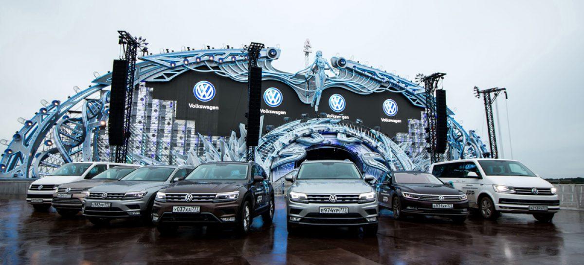 Volkswagen выступит партнером фестиваля Alfa Future People 2018