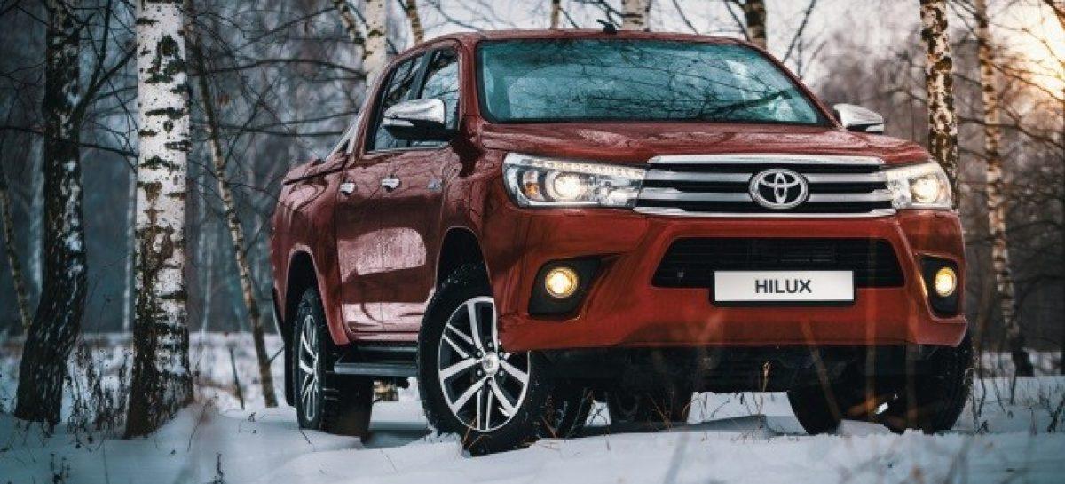 Toyota Hilux подорожал