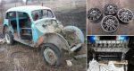 Старенький Москвич скрестили с BMW