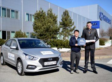 «Спартаку» подарили Hyundai Solaris