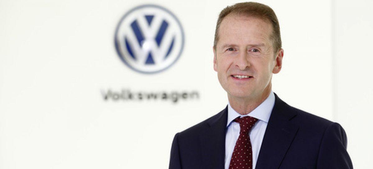 Главы Volkswagen досрочно сложил полномочия