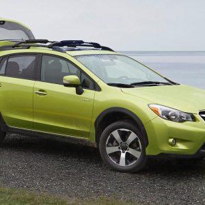 Subaru осенью представит первый гибридный кроссовер Subaru Crosstrek Hybrid