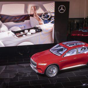 Взгляд в будущее: представлен концепт-кар Mercedes-Maybach Ultimate Luxury