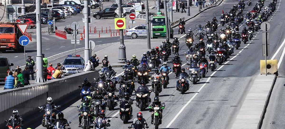 Движение в Москве ограничат из-за мотофестиваля