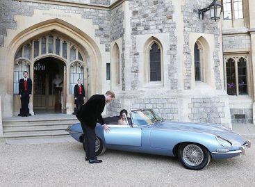 Jaguar на королевской свадьбе
