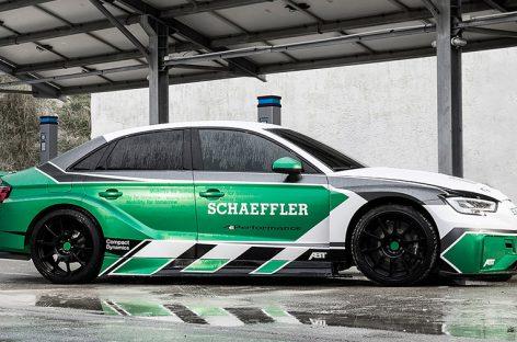 Из Audi RS3 сделали 1200-сильный электрический суперкар