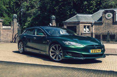 Голландцы сделали из Tesla Model S шутинг-брейк